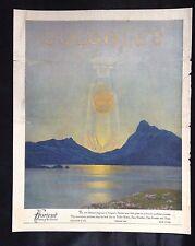 1921 Vintage Magazine Toiletry Art Deco Ad ~ Colgate Florient Perfume