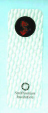 3D Lenticular Bookmark Clear Planet Earth Smithsonian Institution Washington US