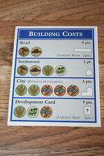 The Settlers Of Catan Board Game Pieces Amp Parts Ebay