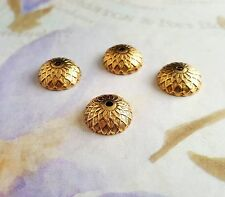 Vintaj Artisan Copper Acorn Bead Caps 12.5mm 4