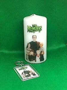 The Munsters candle with FREE matching  key ring