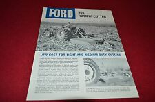 Ford Tractor 908 Rotary Cutter Dealer's Brochure LCPA3 ver3