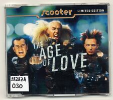 Scooter Maxi-CD The Age Of Love LIMITED EDITION - Minimax Edition Purple