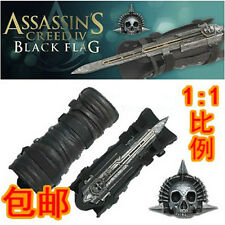 Assassin's Creed 4 Black Flag Pirate Cosplay Hidden Blade Edward Kenway Gauntlet