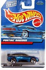 2000 Hot Wheels #119 Pontiac Rageous china base clear roof