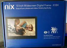 NIX HD Digital Photo 10-Inch Widescreen Digital Photo Frame X10H
