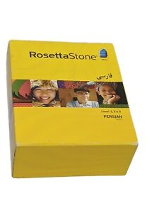 Rosetta Stone Persian Farsi Levels 1, 2 & 3 With Instructions No Headset