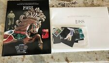 USPS 1988 Mint Set Of Commemorative Stamps and Booklet