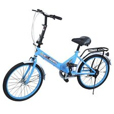 20 Inch carbon steel Single Speed Folding Bike Single Speed Folding Bike US SE