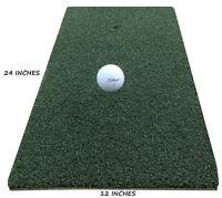"12"" x 24"" Golf Chipping Mats Driving Range Practice Golf Mat With Foam"