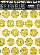 ELVIS PRESLEY worldwide gold award hits parts 3&4  US 1978 EX 2lp