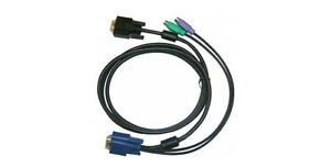 D-LINK DKVM-IPCB5 KVM over IP Switch Cable 5M 16.4FT VGA Monitor Keyboard Mouse