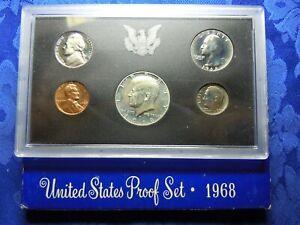 US PROOF SET 1968 S