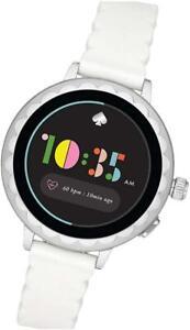 Kate Spade New York Scallop 2 Smart Watch - White & Silver