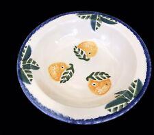 Orange Poole Pottery Dorset Fruits Dessert/Soup Bowl