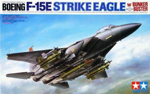 Tamiya 60312 1/32 Aircraft Model Kit Boeing F-15E Strike Eagle w/Bunker Buster