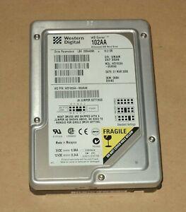 WESTERN DIGITAL WD CAVIAR 102AA IDE HARD DISK DRIVE 10.2 GB – USED – TESTED