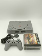 Sony PlayStation 1 | Controller + 3x Spiele + Memory Card | Alle Kabel
