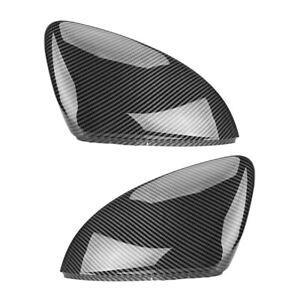 Paar Carbon Außenspiegelgehäuse Spiegelkappen Für VW Golf MK7 7R VII GTI L+R Neu