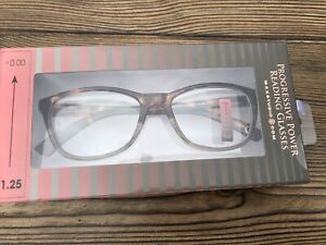 Maxstudio - Progressive Power Reading Glasses - +0.00 To +1.25 - New