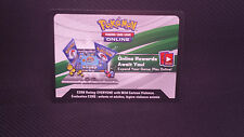 POKEMON: BATTLE ARENA DECKS RAYQUAZA VS KELDEO PTCGO CARD PreBlack Friday SALE