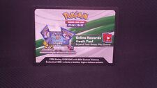 Pokemon B&W Fall 2013 Legendary Tin Deoxys  Unused Online Code Card