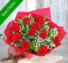 Fresh Flowers Delivery Sydney - Gorgeous 12 Premium red rose bouquet