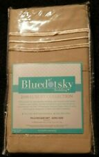 new bluedot sky bedding tan king size microfiber pillowcase set