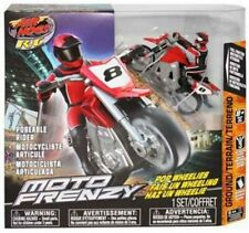 New! Air Hogs Radio Control Remote Control Rc Moto Frenzy Red Motorcycle Bike
