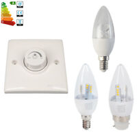 6x E14 B22 Dimmable 5W 8W LED Candle Bulbs Spotlight SES BC Spot Bulb Downlights