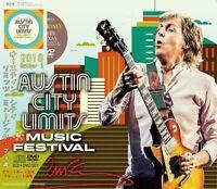 PAUL McCARTNEY / AUSTIN CITY LIMITS MUSIC FESTIVAL 2018 2CD+DVD TEXAS Oct.5