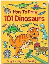 How to Draw 101 Dinosaurs by Top That! Publishing Ltd (Paperback, 2013)