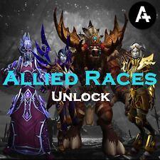 [EU/US] WoW boost Allied races reputation access farm | Mount unlock | BFA