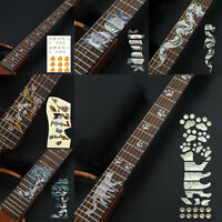 Guitar Fingerboard Fretboard Stickers PVC Decals Decoration For Guitar YK