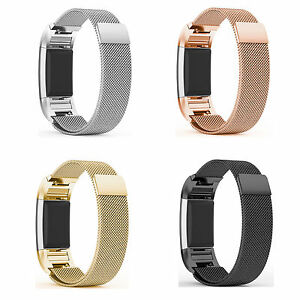 Metal Fitbit Charge 2 Replacement Milanese Band Strap Secure Wristband Nice