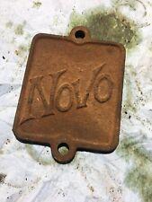 Novo Hit Miss antique farm Engine crank Case Side Cover Plate original 3hp