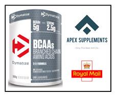 DYMATIZE BCAA 2:1:1 Essential Amino Acids Vit B6 Powder 300g Gluten Lactose Free