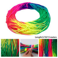 rope Rainbow Cord Paracord Tie  Cords Emergency Tent Accessories