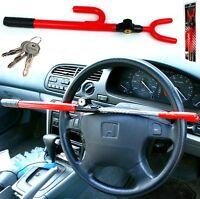 STEERING WHEEL LOCK CAR VAN SECURITY ANTI THEFT KEYS UNIVERSAL STICK CRIME AC56