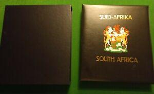 DAVO  stamp album & Slipcase South Africa Rep. I 1961-1995 - MNH & Fine used