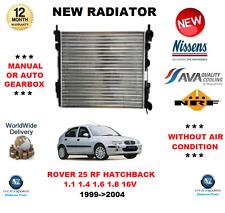 Per Rover 25 RF due volumi 1.1 1.4 1.6 1.8 16V 1999 - > 2004 NUOVO RADIATORE OE Quality