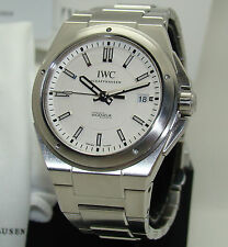 IWC STAINLESS STEEL INGENIEUR AUTOMATIC DIVER's WATCH MINT BOX/PAPERS IW323904