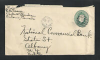 1928 CANADA POSTAL STATIONARY COVER w/ CHUTE A BLONDEAU ONT CANCEL