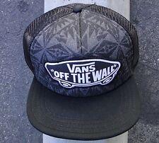 Vans Skateboard Co. Acrosed Black Unisex Mens Snapback Hat