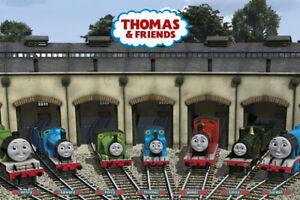 "Thomas The Tank Engine - TV Poster (Garage - Thomas & Friends) (Size: 36"" X 24"")"