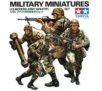 Tamiya 35133 1/35 Scale Model Kit Modern U.S Army Infantry Figure Set