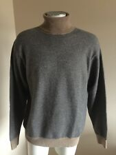 Orvis Signature Collection 100% Cashmere Turtleneck Sweater, Mens Large