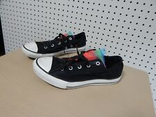 Junior Girls Converse All Star shoes - black - size 4