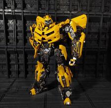 WJ MPM03 Oversize Alloy Bumblebee Deformation Robot Action Figure 11inch