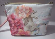 Cute Makeup Cosmetic Bag Girl Pouch Zipper Case Storage Travel Small-Horse